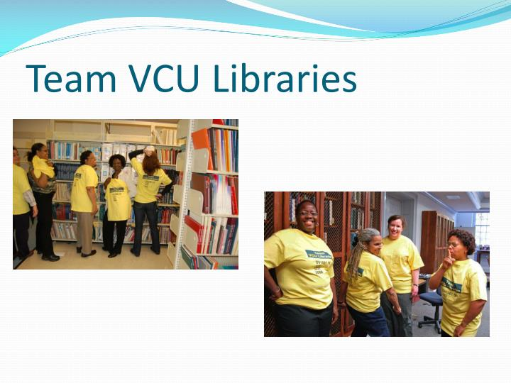 Team VCU Libraries