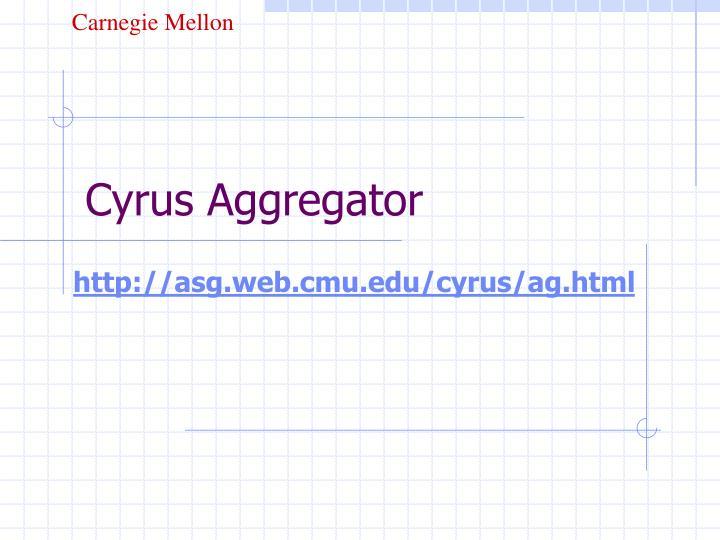 Cyrus Aggregator