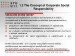 1 2 the concept of corporate social responsibility1