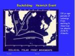 backsliding heinrich event