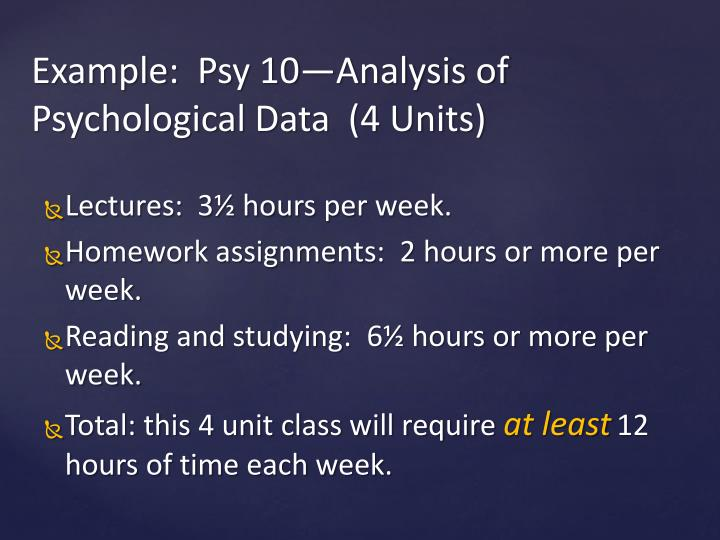 Lectures:  3½ hours per week.