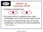 atrap an antimatter trap