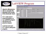 labview program