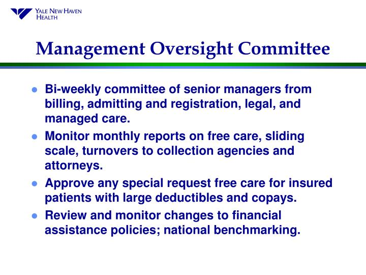 Management Oversight Committee