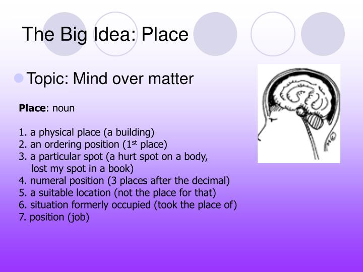 The big idea place