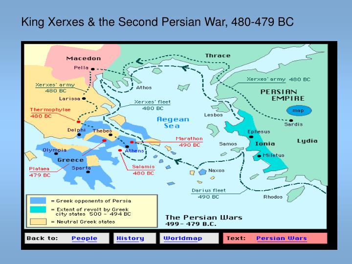 King Xerxes & the Second Persian War, 480-479 BC