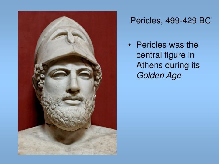 Pericles, 499-429 BC