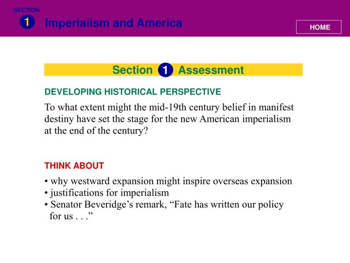 what factors shaped american imperialism