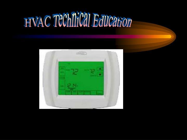 HVAC Technical Education