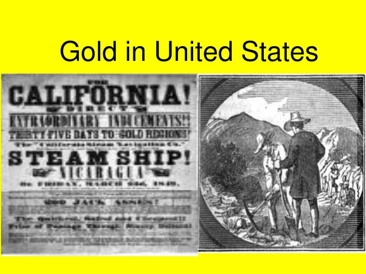 gold in united states n.