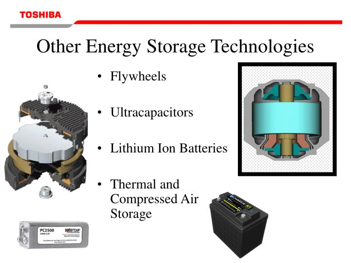 Other Energy Storage Technologies