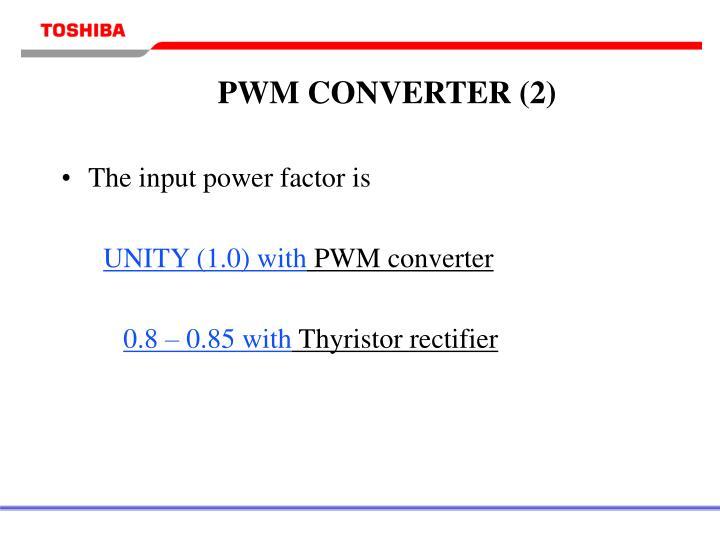 PWM CONVERTER (2)
