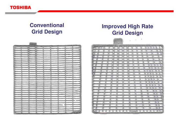 Conventional Grid Design