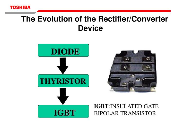 The Evolution of the Rectifier/Converter Device