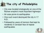 the city of philadelphia1