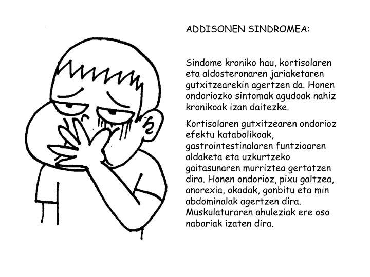 ADDISONEN SINDROMEA: