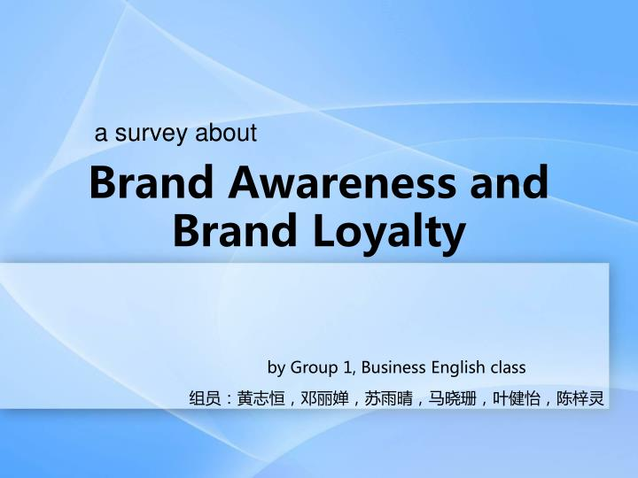 brand awareness on brand loyalty In this model, the relationship between brand equity and brand loyalty and  customer satisfaction is evaluated to review research a sample of 384  customers.