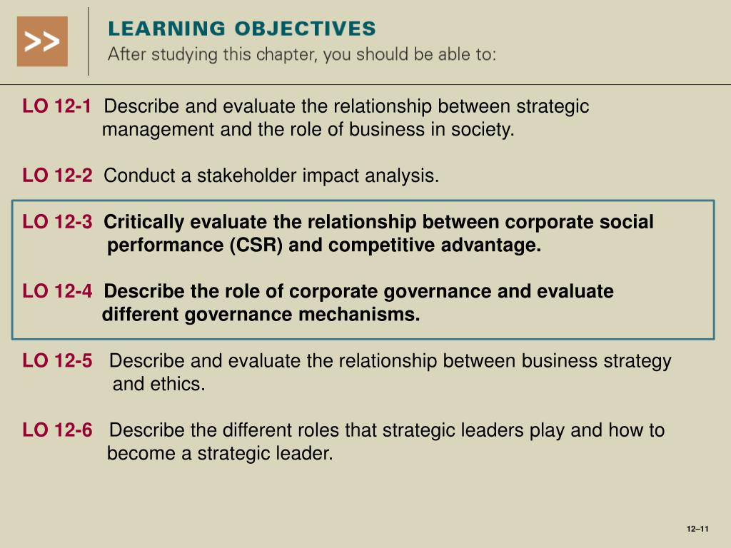 PPT - Corporate Governance, Business Ethics, and Strategic