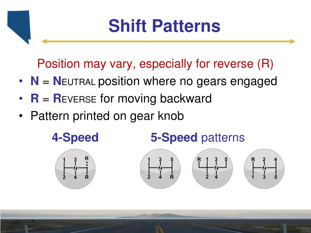 PPT - Using a Manual Transmission PowerPoint Presentation