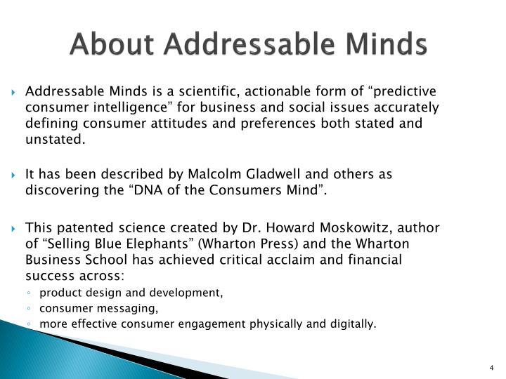 About Addressable Minds