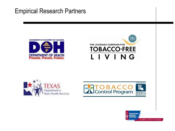 Empirical Research Partners