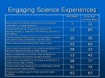 engaging science experiences