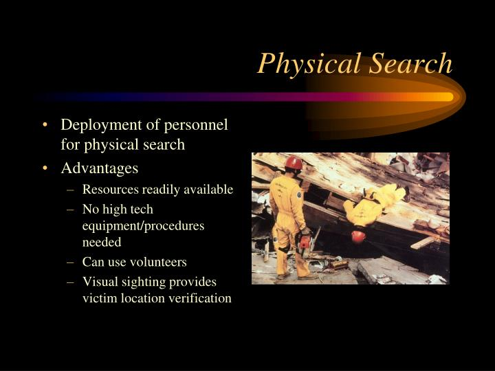 Physical Search