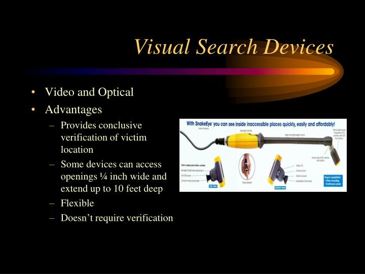 Visual Search Devices