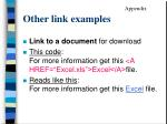 other link examples