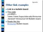 other link examples1