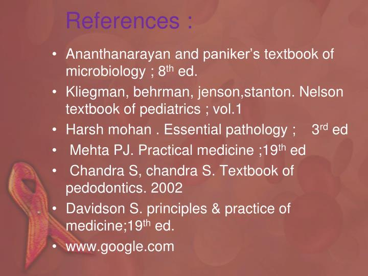 References :