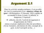 argument 2 1