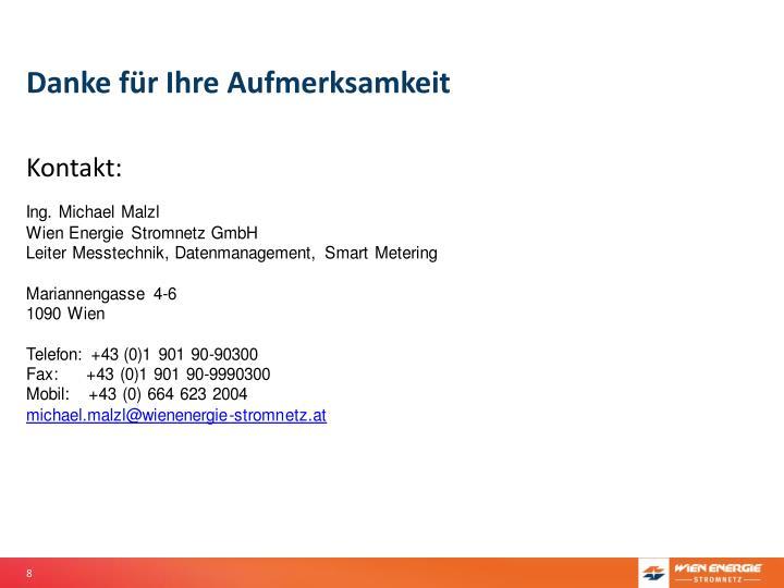 Ppt Status Smart Metering In österreich Und Wien Powerpoint