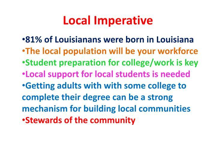 Local Imperative