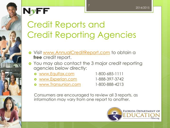 Credit Reports and