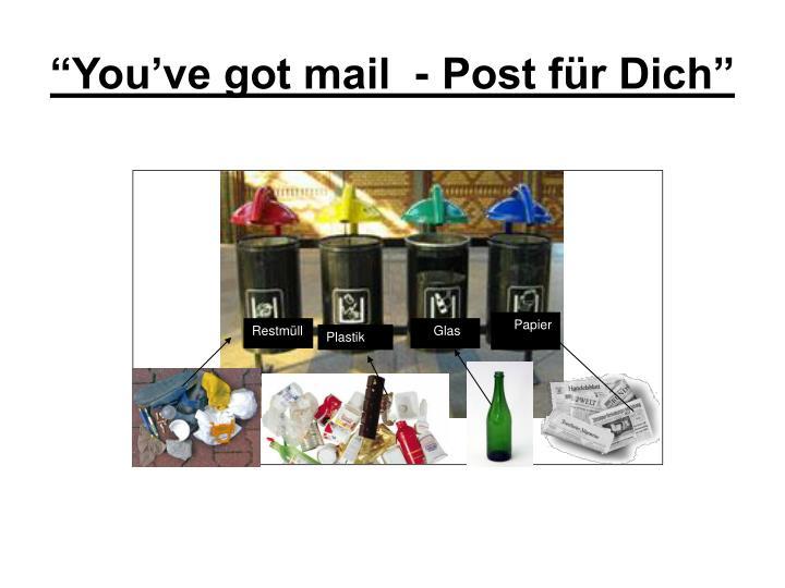 """""""You've got mail  - Post für Dich"""""""
