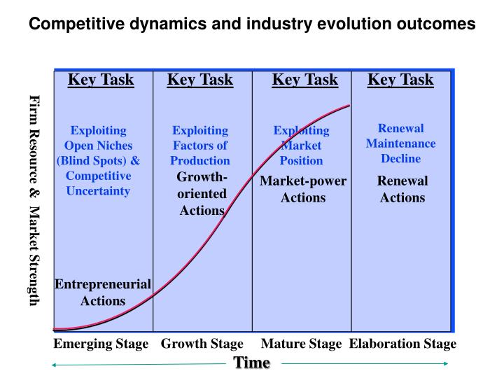 Competitive dynamics and industry evolution outcomes
