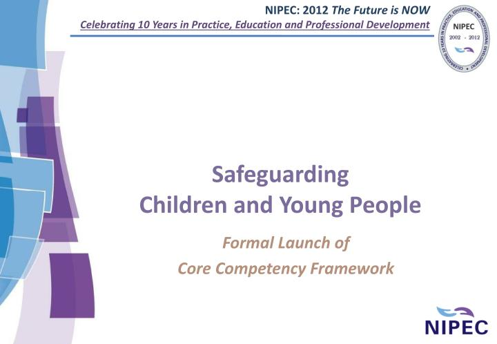 safeguarding children and young people n.