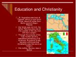 education and christianity