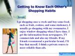 getting to know each other s shopping habits1