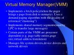 virtual memory manager vmm