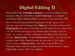 digital editing ii