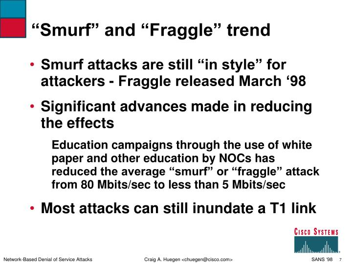 """""""Smurf"""" and """"Fraggle"""" trend"""