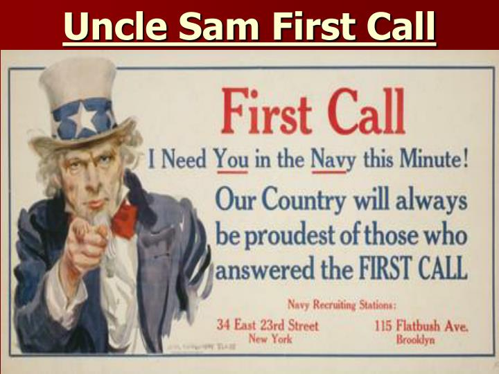 Uncle Sam First Call