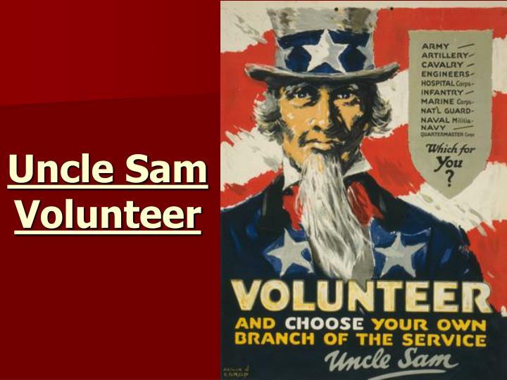 Uncle Sam Volunteer