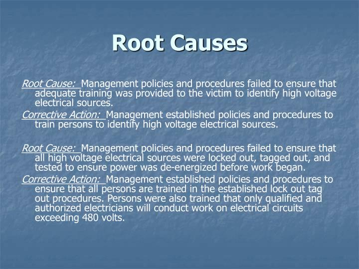 Root Causes