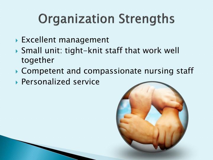 Organization Strengths