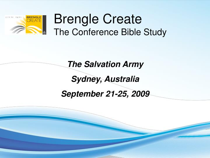 Ppt the salvation army sydney australia september 21 25 2009 the salvation army toneelgroepblik Images