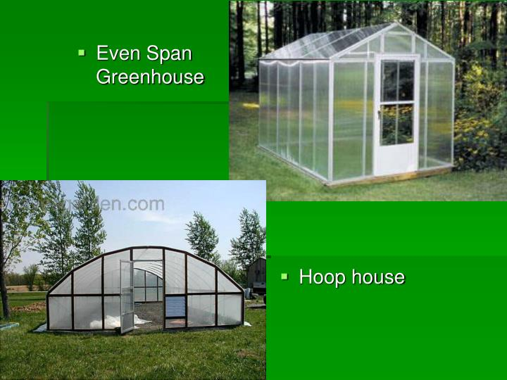Even Span Greenhouse