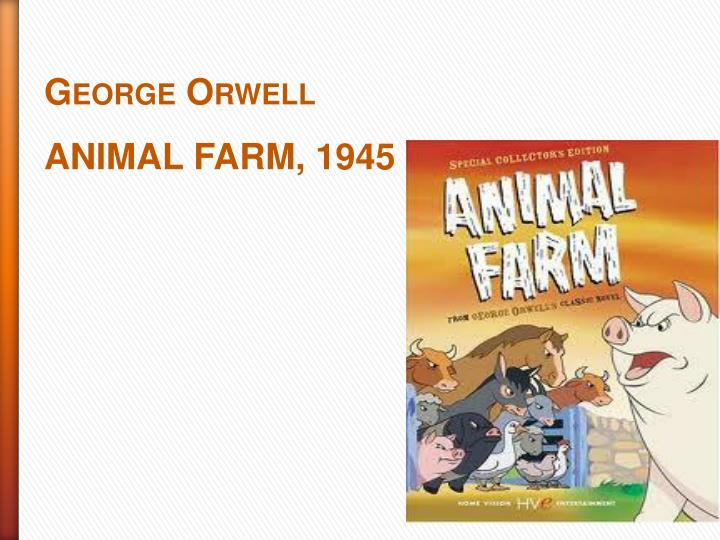 a satire of the russian revolution in the animal farm by george orwell